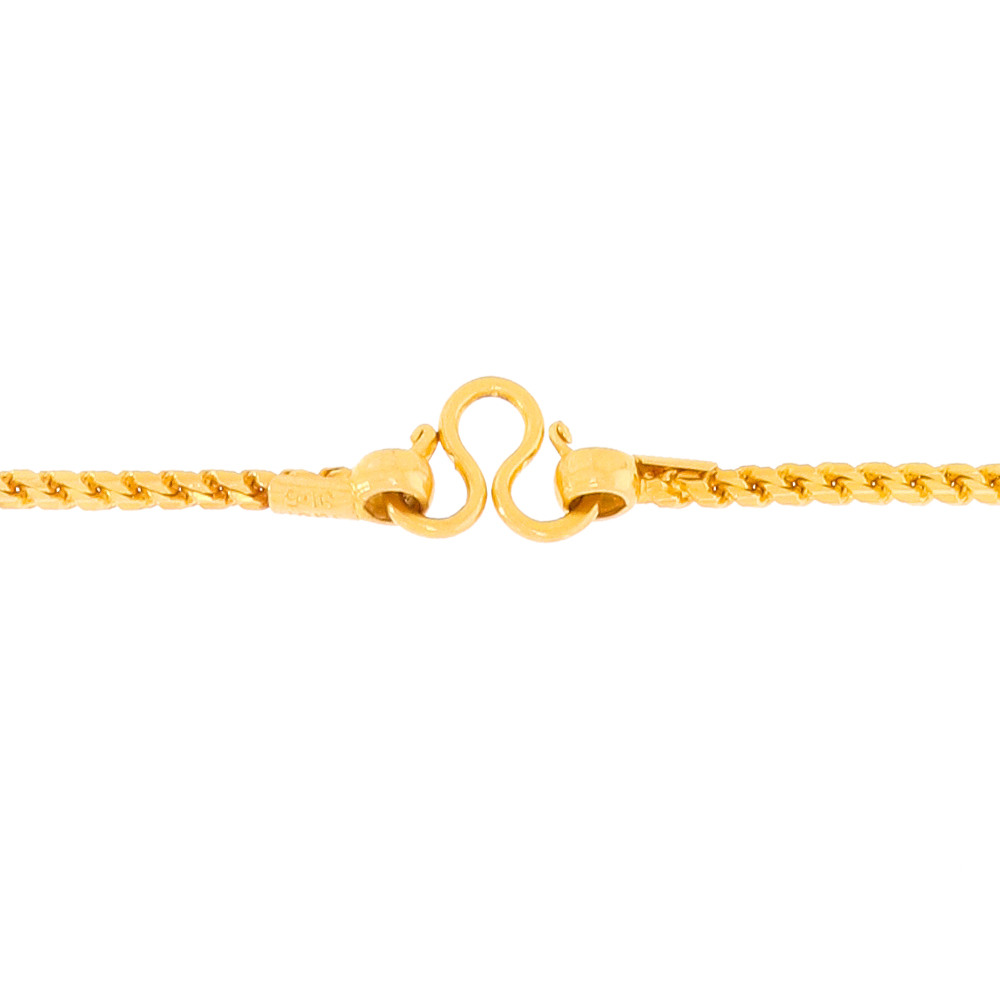 Gold Chains Glossy Finish Linked Gold Chain 2853-3.jpg