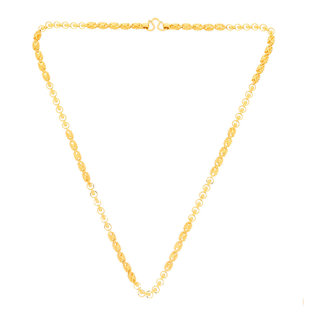 Gold Chains Stylish Rolo Gold Chain 2857-2.jpg