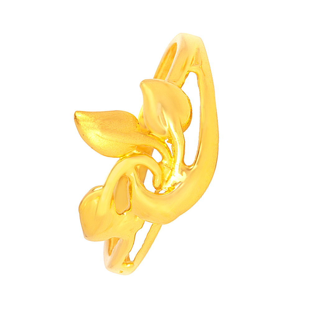 Peacock undefined Yellow Gold 22kt with undefined Rings-201-19043801