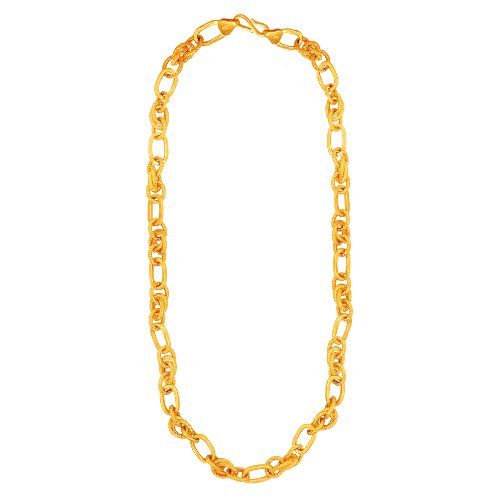Indo Italian 22kt Yellow Gold Chain -CHN17751