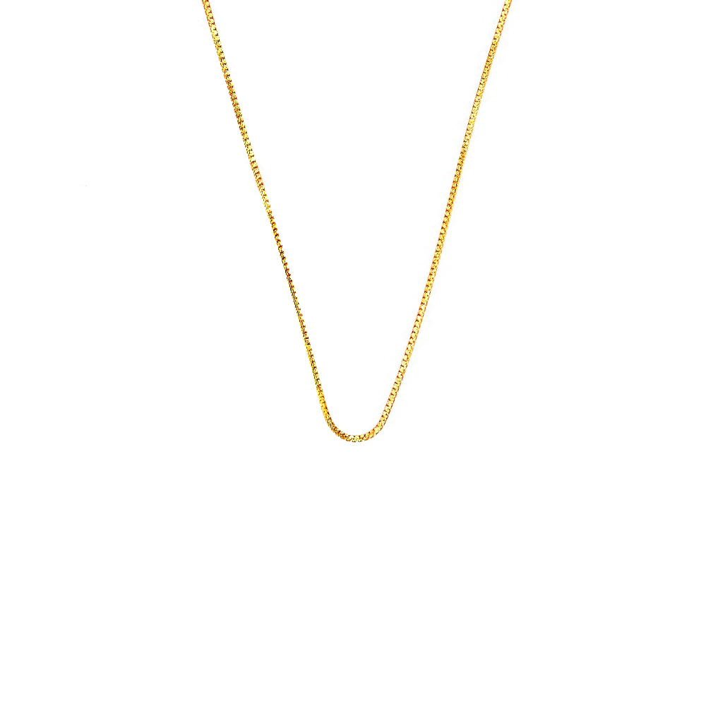 Gold Chains  Classic Daily Wear Yellow Gold 22kt Chains CHN25234-1.jpg