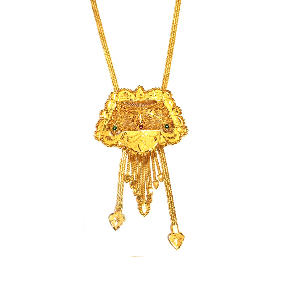 Gold Traditional Pendant Necklace RK-1-1.jpg