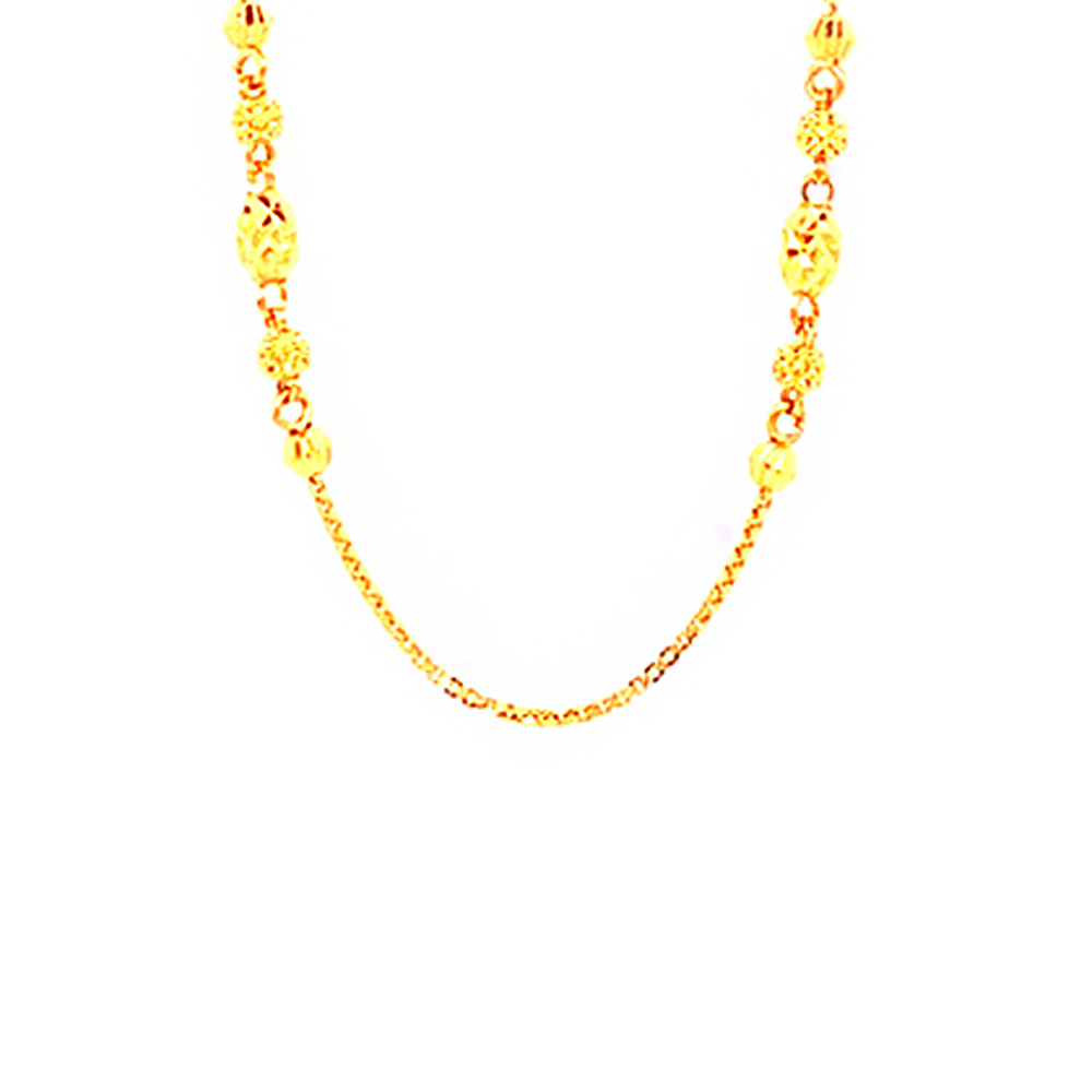 Classic Casual Wear Yellow Gold 22kt Chains-352-sch0024