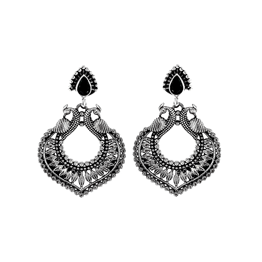 Silver Traditional Antique Peacock White Silver 925 Earrings-379-16504167 16504167-1.jpg