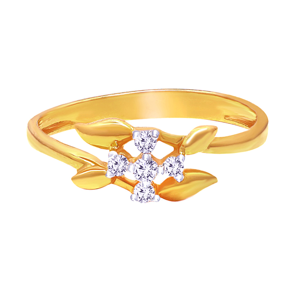 Classic Daily Wear Yellow Gold 14kt Rings-397-R22