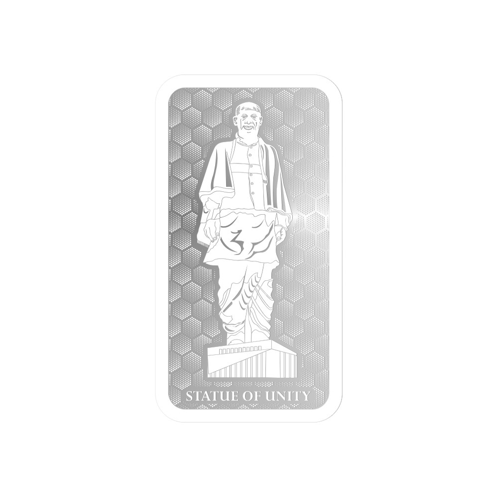 20 Grams 999 Purity Statue of Unity Silver Note-398-OMPL20SPB
