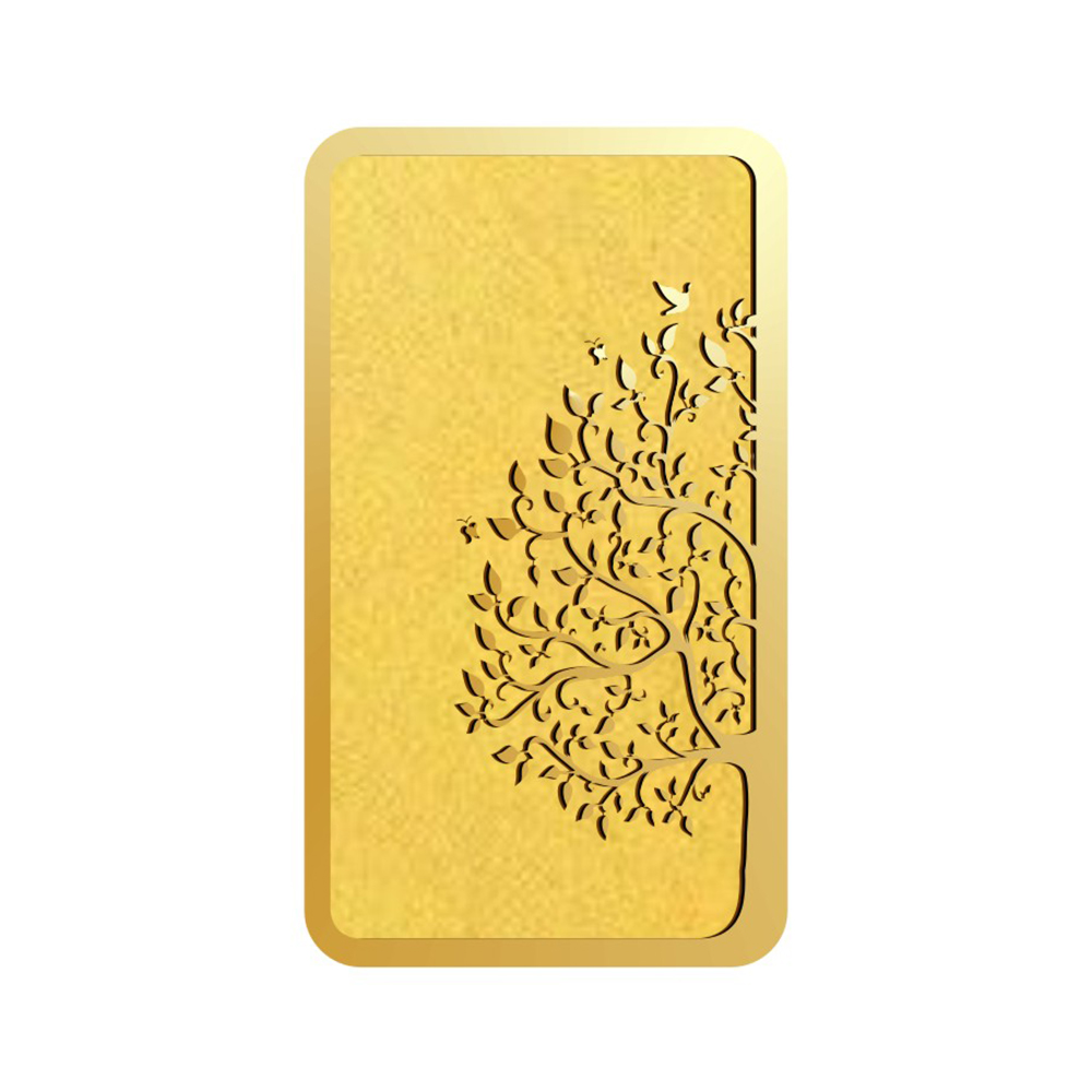 2 Grams 916 Purity Maple Leaf Yellow Gold Bar-398-OMPL2GB916