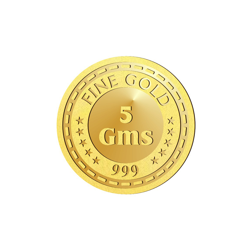 Coins And Bars 5 Grams 999 Purity Lakshmi Gold Coin  OMPL5LGC-2.jpg