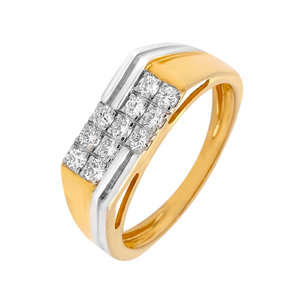 Stylish Designer Diamond Ring For Him
