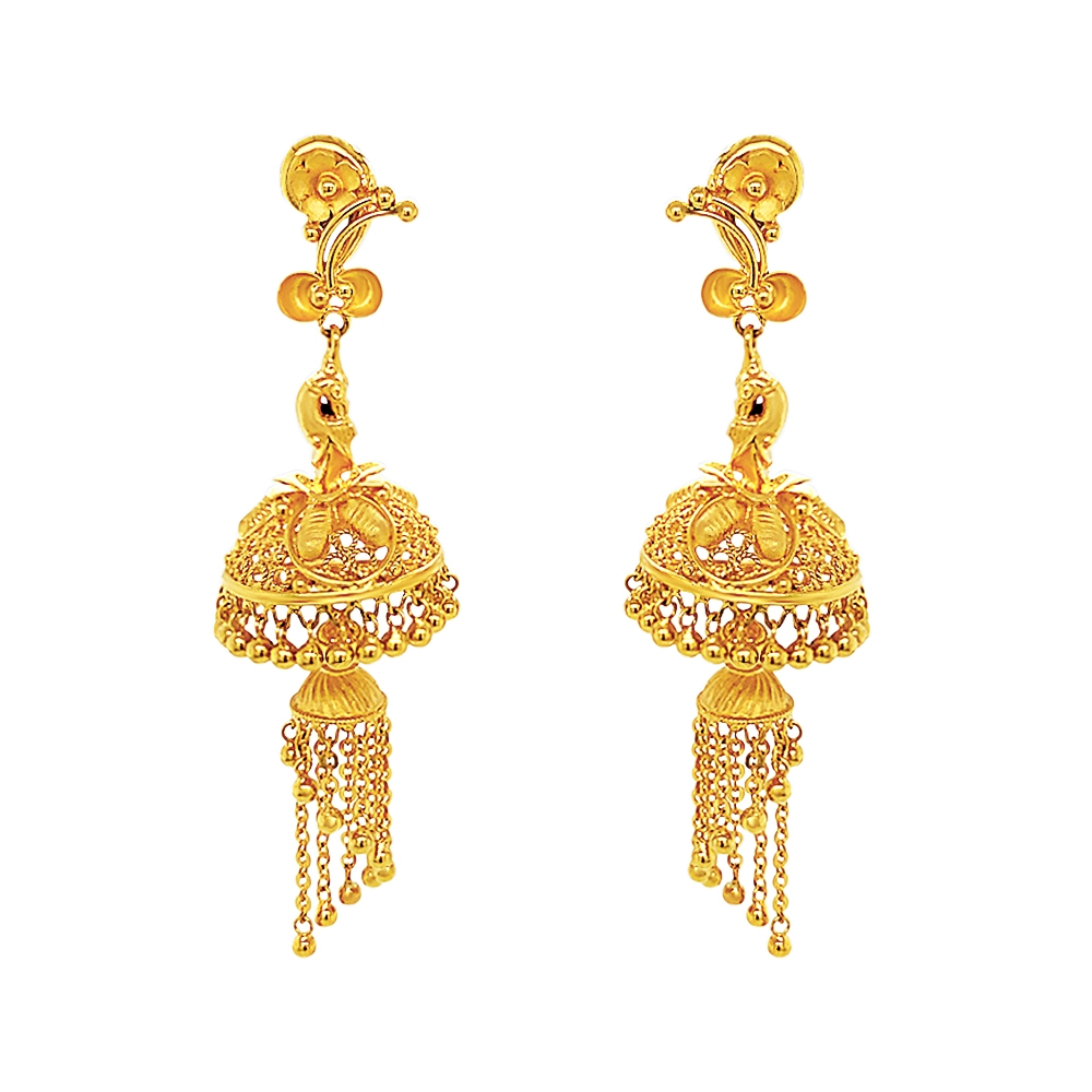 Gold Traditional Cutout Floral Gold Jhumka ET2713-1.jpg