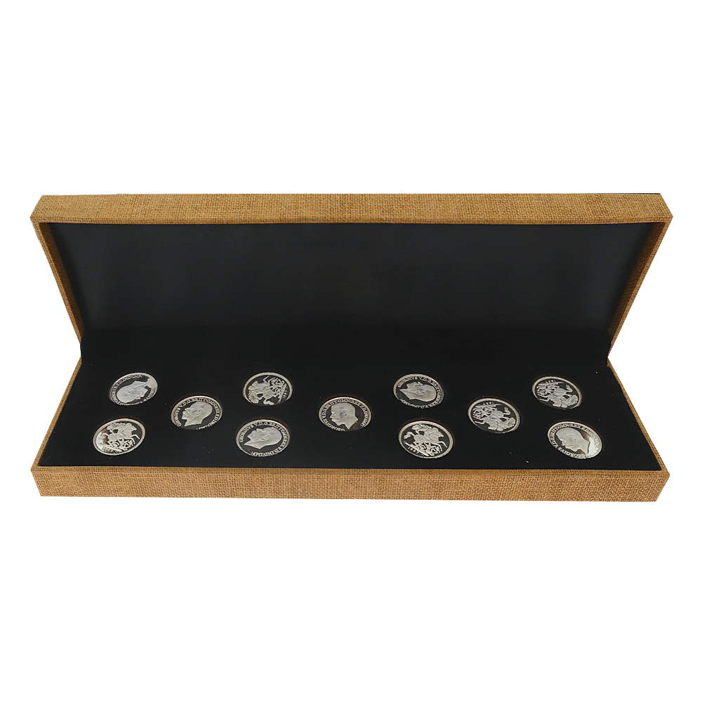 33 Gms. Silver 925 Coins