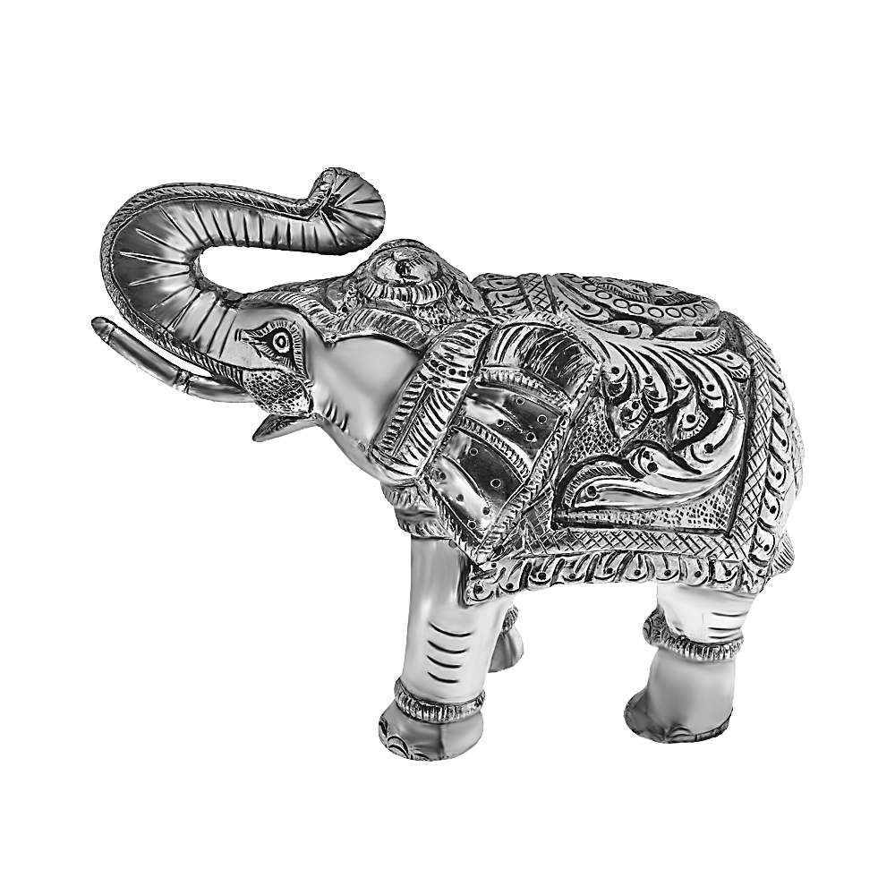 Powerful Anique Elephant (Set Of Two)