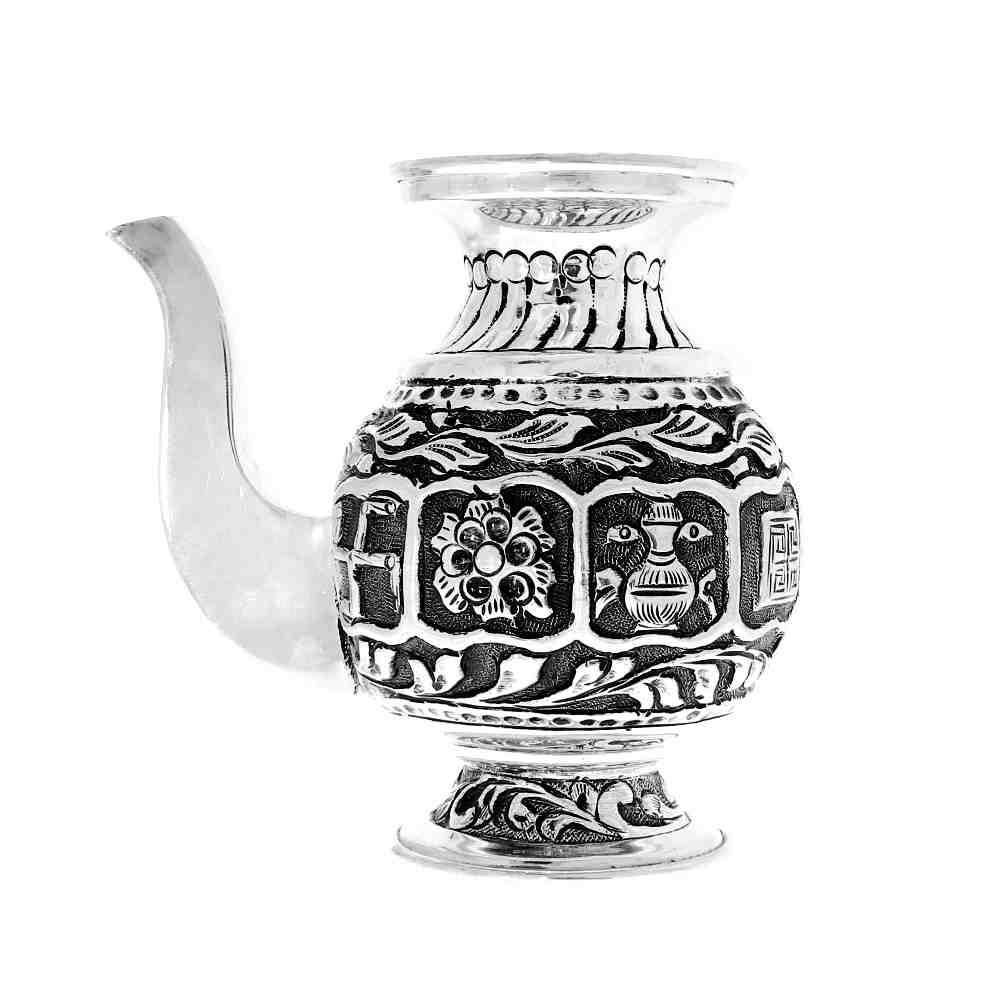 Silver 925 Antique Lota For Jal Artifact
