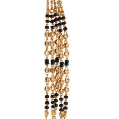 Glossy Finish Multi Line Links Gold Mangalsutra  - 14-A948