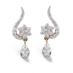 Diamond Earrings - A876