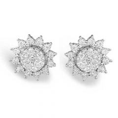Diamond Earrings - C969