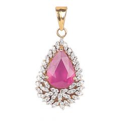 Diamond Pendants - F341