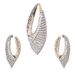 Diamond Pendent set , Sets -O210
