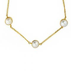 Sparkling Fashion Wedding Yellow Gold 22kt Chain-JPMAY-18-111