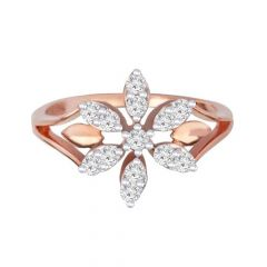 Sparkling Delight Classsic 14kt Rose Gold Diamond -DM008RNGAR015302