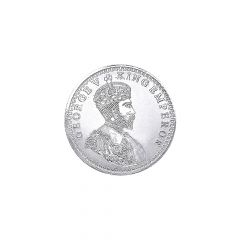 George V King Emperor 50 Gms 999 Purity Silver Coin