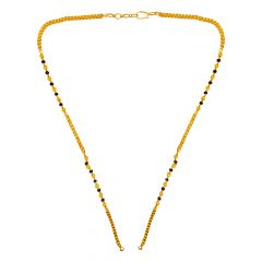 Delicate Textured Bead Gold Mangalsutra