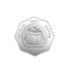 Tola 31.1 Gms 999 Purity MMTC Silver Coin