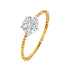 Stunning daily Wear Diamond Gold Ring