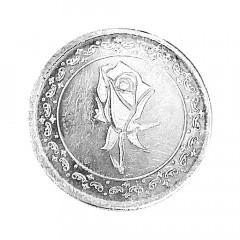999 Purity 4 Gms Floral Gifting Silver Coin -191-Pans010