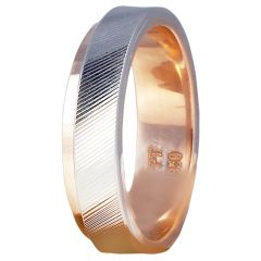 18kt Gold Two Tone With Rings-2080