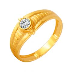 Elegant CZ Diamond Ring For Him