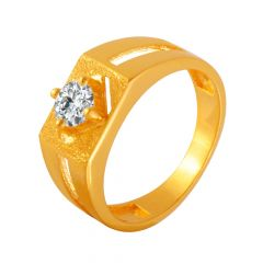 Magnificent CZ Diamond Ring For Him