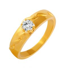 Dazzle Single CZ Diamond Ring