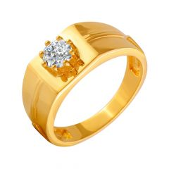 Exquisite CZ Diamond Ring For Him
