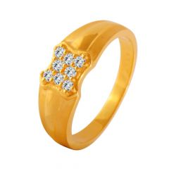 Splendid CZ Diamond Ring For Him