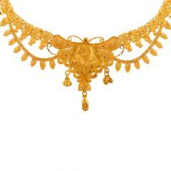 Magnificent Traditional Gold Necklace