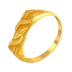 Regal Gold Ring For Him