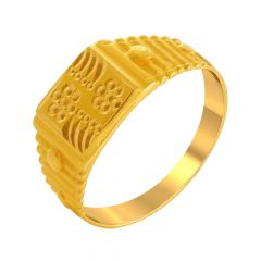Classic Gold Ring For Him