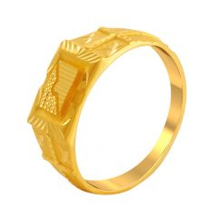 Grand Traditional Gold Ring For Him