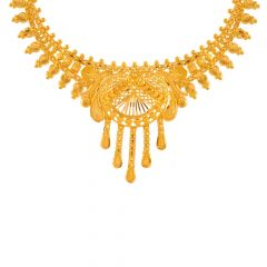 Grand Traditional Gold Necklace