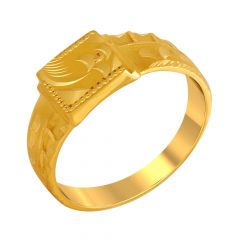 Fab Gold Ring For Him
