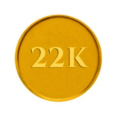 2 gm 22KT (916) Yellow Gold Coin