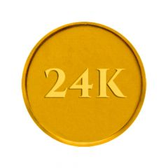 2 gm, 24KT (995) Gold Coin