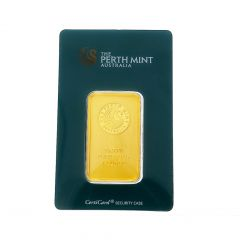 Perth Mint 31.104 Gms 999 Purity Fine Gold Bar