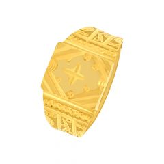 Traditional Gold Ring For Him