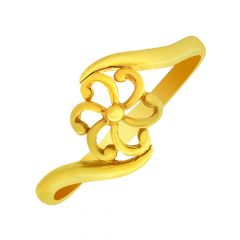 Eternal Floral Gold Ring