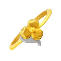 Bloom Floral 22kt Daily Wear Gold Ring