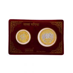 Swastik 12.5 Gms 999 Purity Silver Coin
