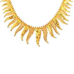 Sunbeam Traditional Gold Necklace