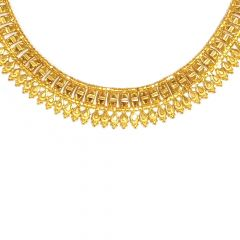 Ritual Traditional Textured Gold Necklace